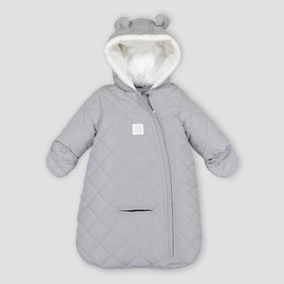 Baby Girls' Snowsuit - Just One You® made by carter's Gray One Size