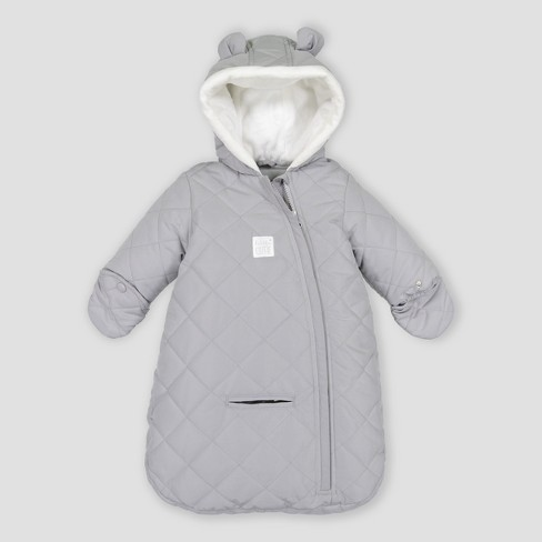 4070a28e3 Baby Girls  Snowsuit - Just One You® Made By Carter s Gray One Size ...