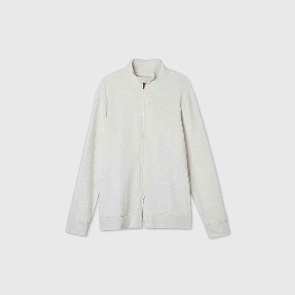 Reviews Men's Tall Standard Fit Full-Zip Fleece Sweatshirt - Goodfellow & Co™