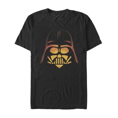 Men's Star Wars Halloween Darth Vader Pumpkin T-Shirt