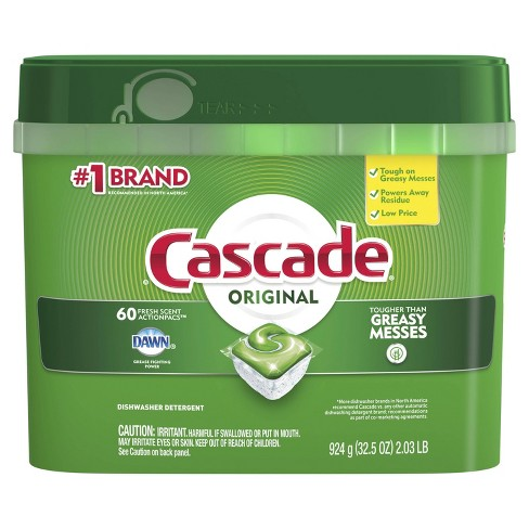 Cascade ActionPacs Fresh Scent Dishwasher Detergent - image 1 of 4
