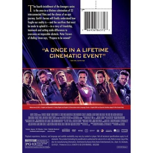 Avengers Endgame (Blu-Ray + Digital)