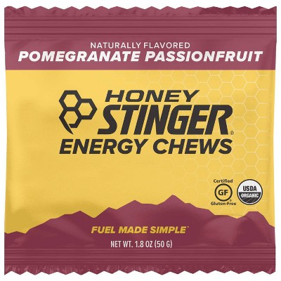 Honey Stinger Organic Energy Chews Pomegranate Passion