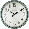 """24"""" Bellamy Wall Clock Turquoise - FirsTime - image 2 of 4"""