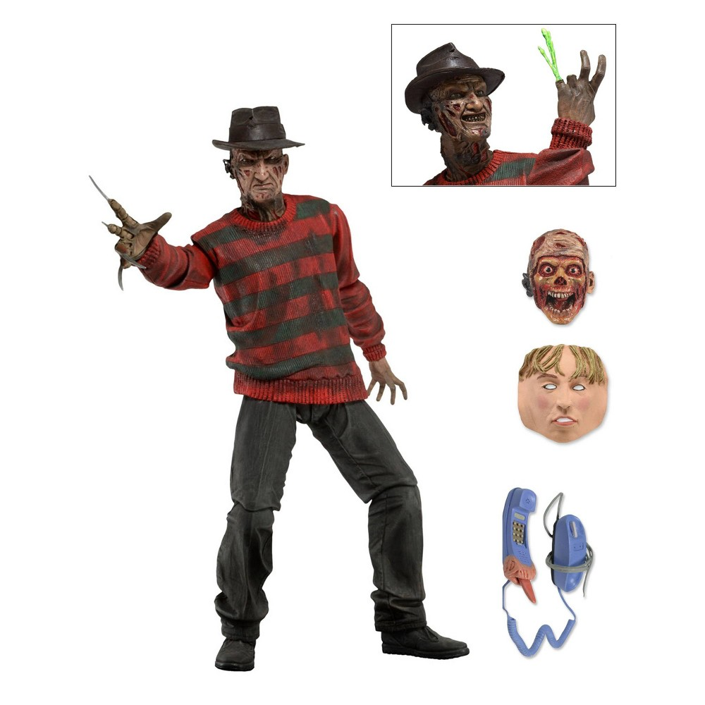 """Image of """"A Nightmare on Elm Street 30th Anniversary Ultimate Freddy 7"""""""" Action Figure & Accessories"""""""