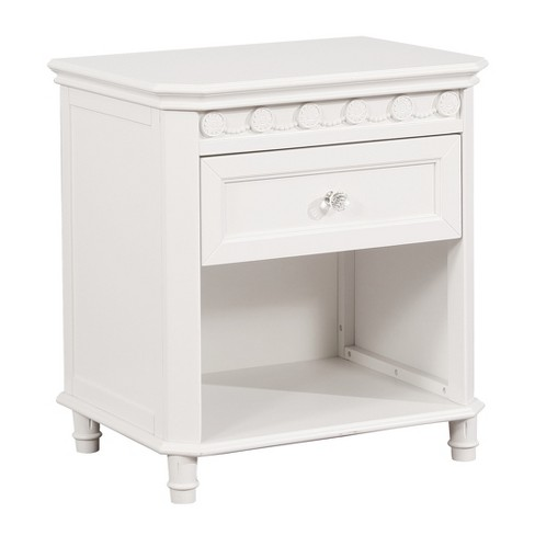 Clic Nightstand White Simply Shabby Chic