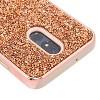 MYBAT For LG Stylo 5 Rose Gold Mini Crystals Rhinestones Desire Hard Hybrid Case - image 2 of 2