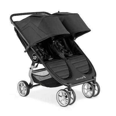 Baby Jogger City Mini 2 Double Stroller - Jet Black