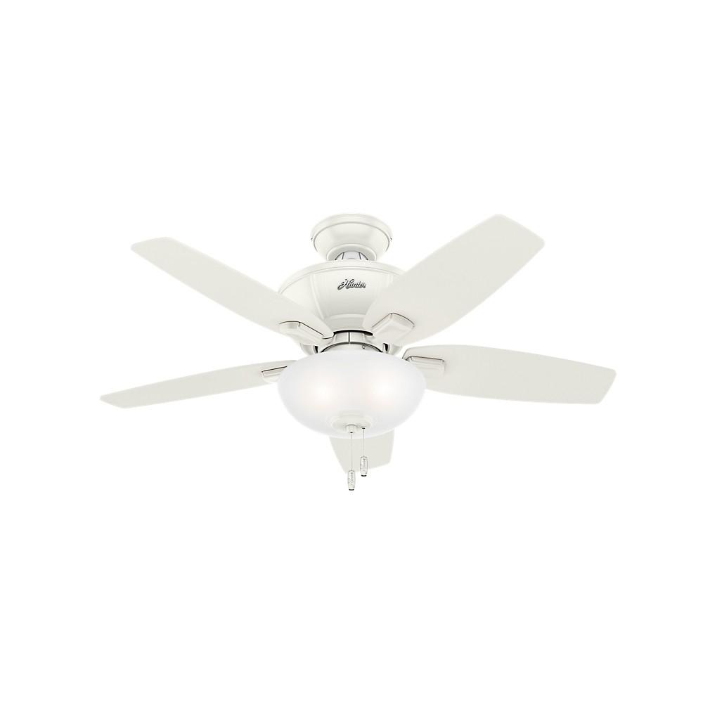 Image of 42 Kenbridge Fresh Led Lighted Ceiling Fan Fresh White - Hunter Fan