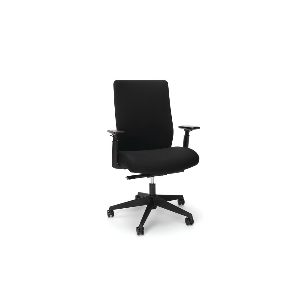 Promos Basyx Biometryx Commercial Grade Fabric Upholstered Task Chair  - HON