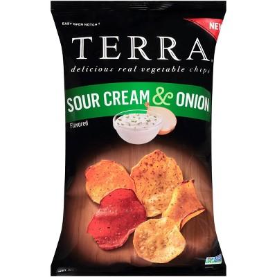 Terra Sour Cream & Onion Chips - 5.5oz