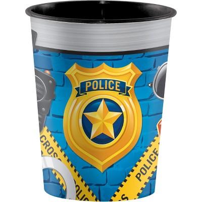 Police Party Plastic Keepsake Cup