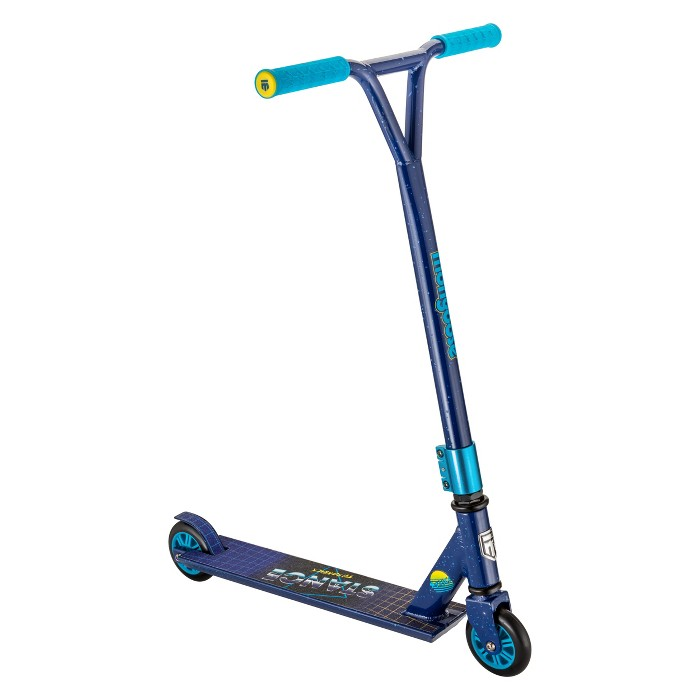 Mongoose Stance Throwback Freestyle Scooter - Blue - image 1 of 7