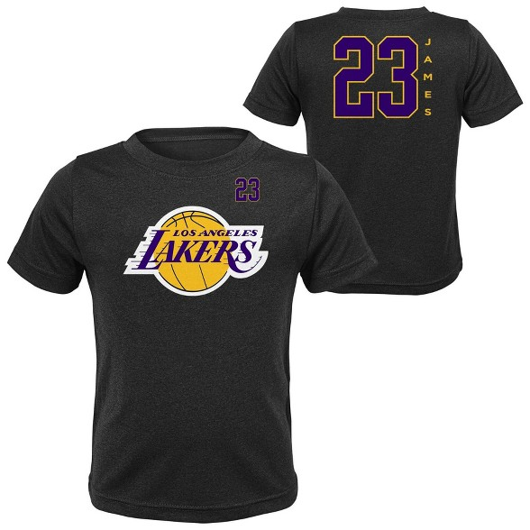 huge selection of 73d47 33646 NBA Los Angeles Lakers Boys' LeBron James Performance T-Shirt
