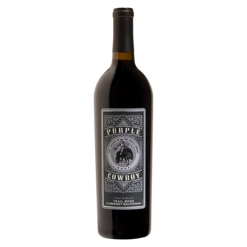 Purple Cowboy® Trail Boss Cabernet Sauvignon - 750mL Bottle - image 1 of 1