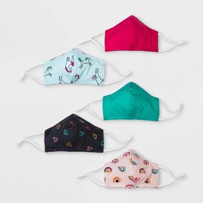 Kids' 5pk Fabric Face Masks - Cat & Jack™