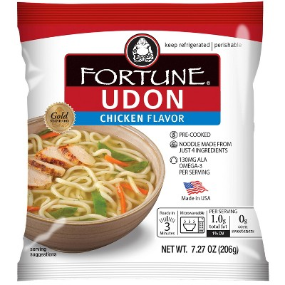 Fortune Udon Soup Noodles With Chicken - 7.27oz
