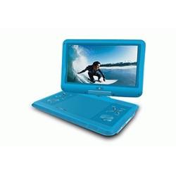 """Ematic EPD121BU Portable DVD Player - 12.1"""" Display - 1366 x 768 - Blue - DVD-R, CD-R - DVD Video, Video CD, MPEG-4 - CD-DA, MP3"""