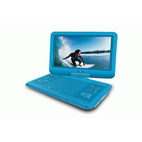 "Ematic EPD121BU Portable DVD Player - 12.1"" Display - 1366 x 768 - Blue - DVD-R, CD-R - DVD Video, Video CD, MPEG-4 - CD-DA, MP3 - image 1 of 1"