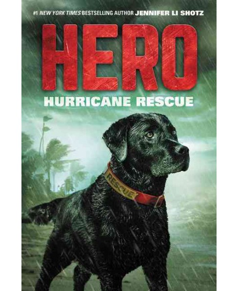 Hurricane Rescue -  (Hero) by Jennifer Li Shotz (Hardcover) - image 1 of 1