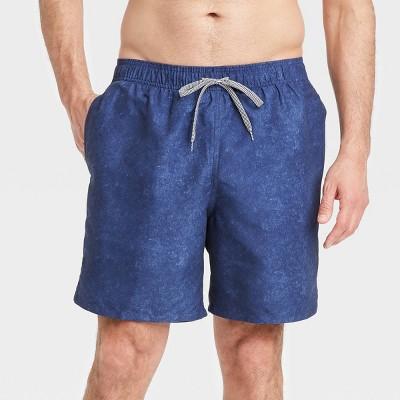 """Men's 7"""" Swim Trunks - Goodfellow & Co™ Navy"""