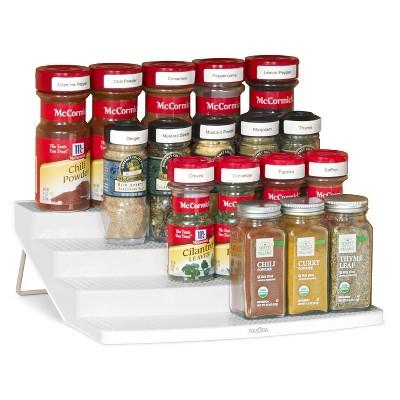 Spice Rack 24-Bottle Organizer White - YouCopia
