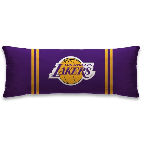"""NBA Los Angeles Lakers 20""""x48"""" Body Pillow - image 1 of 1"""