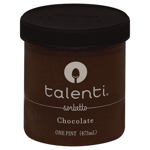 Talenti Chocolate Sorbetto Gelato Ice Cream - 16oz - image 1 of 8