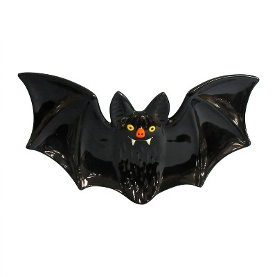 17'' Halloween Bat Platter Black - Hyde and Eek! Boutique™