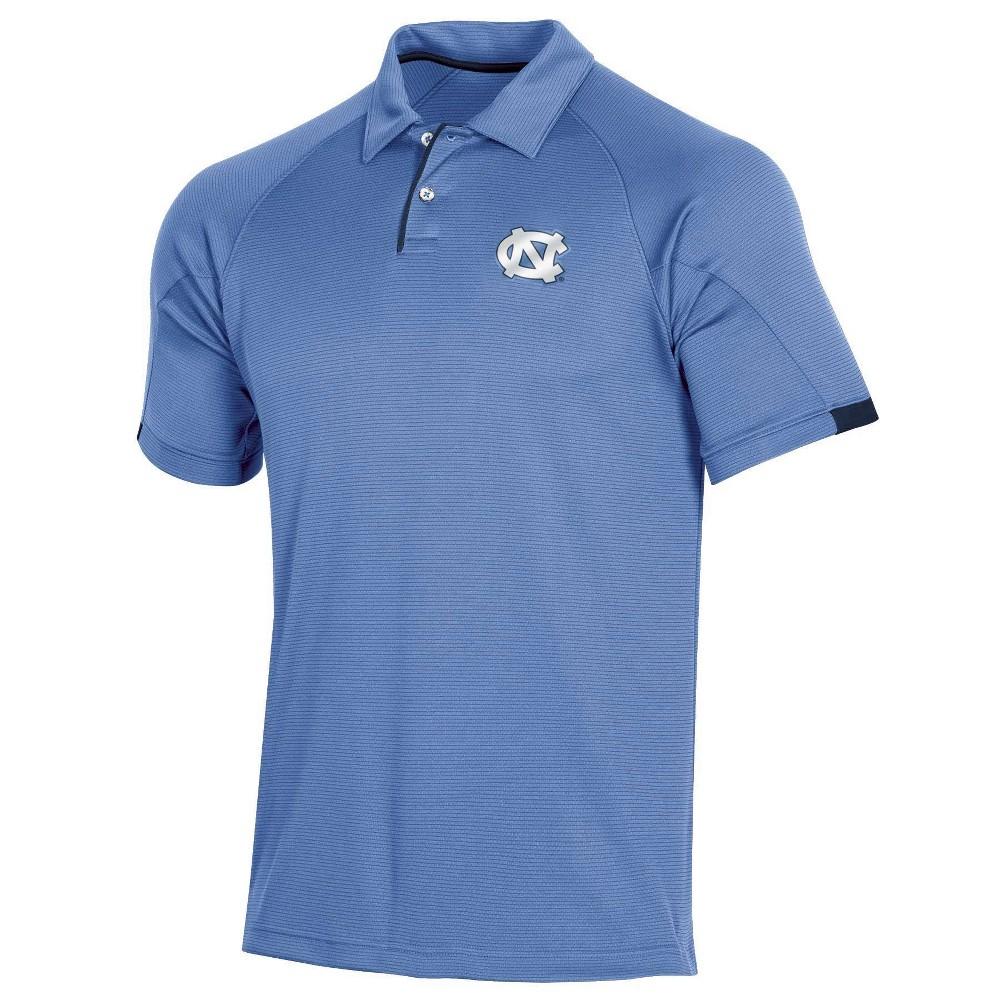 NCAA North Carolina Tar Heels Mens Short Sleeved Polo Shirt - L