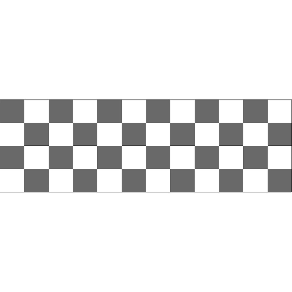 Image of WallPops! Rally Racer Stripe - Black/White, Multi-Colored