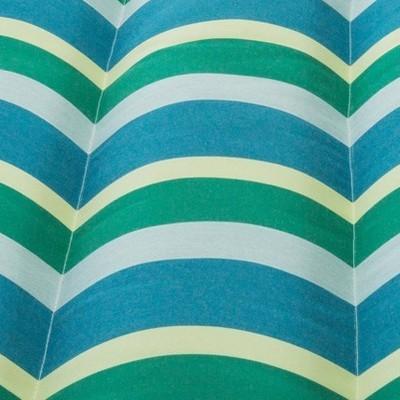 Turquoise/Green Stripe