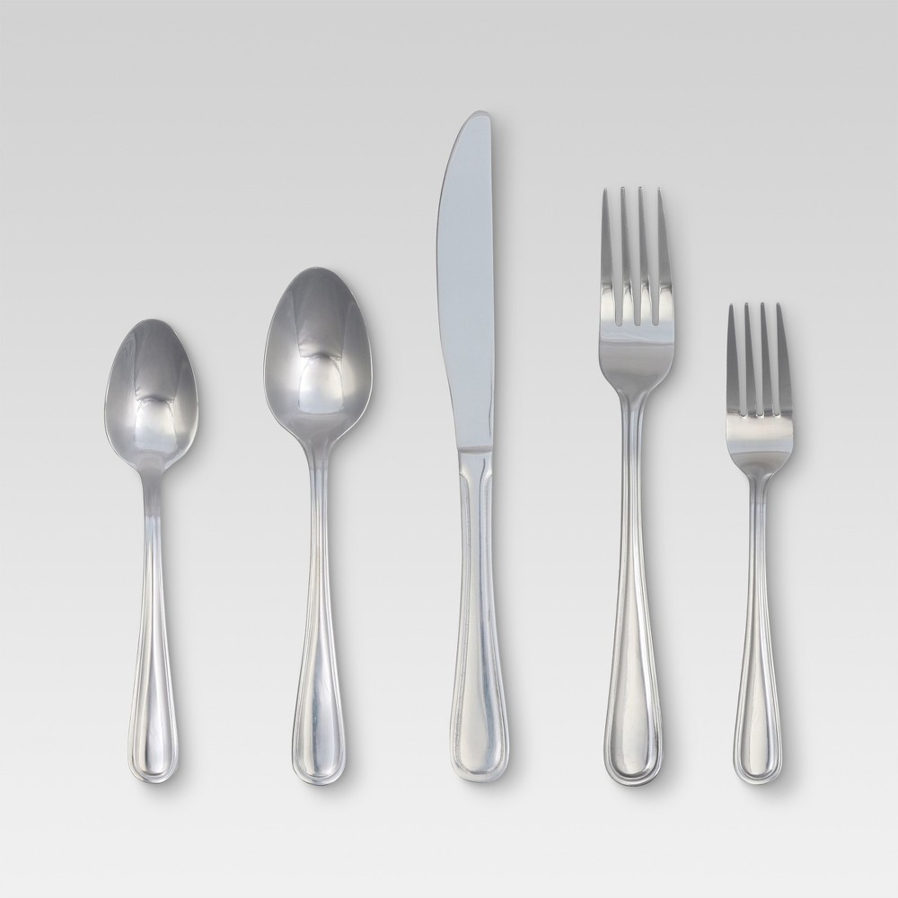 Image of Eldon Silverware Set 20-pc. Stainless Steel - Threshold