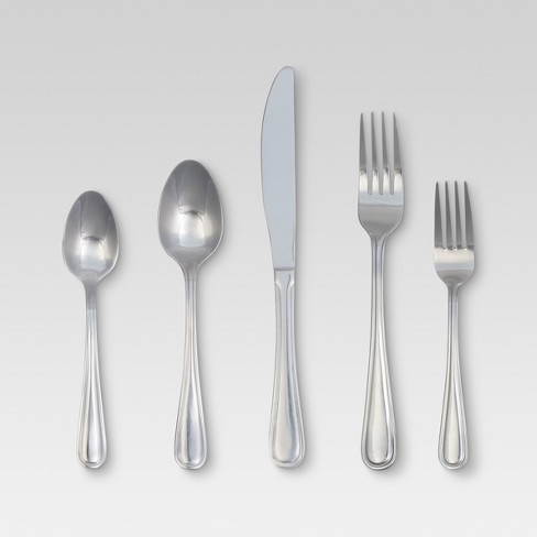 Eldon Silverware Set 20-pc. Stainless Steel - Threshold™ - image 1 of 1