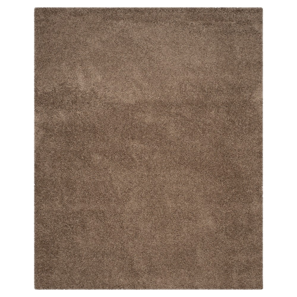 Check price 8X10 Rayan Solid Loomed Area Rug Taupe - Safavieh