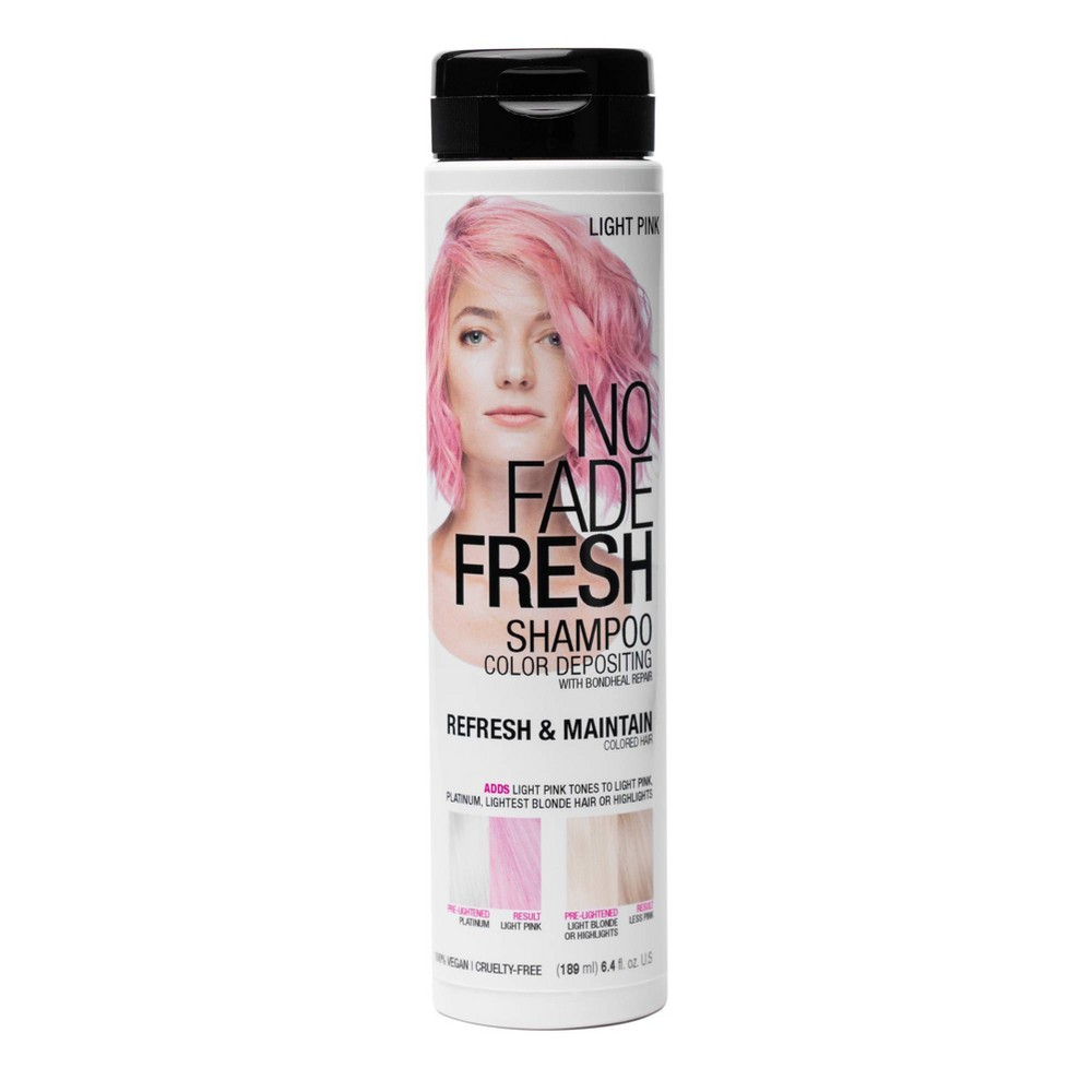 Image of No Fade Fresh Color Depositing Shampoo - Light Pink