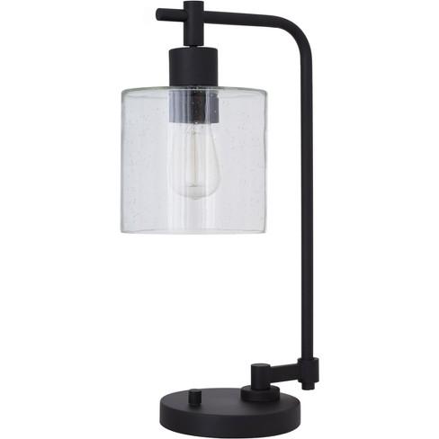 Hudson Industrial Desk Lamp Black  - Threshold™ - image 1 of 3