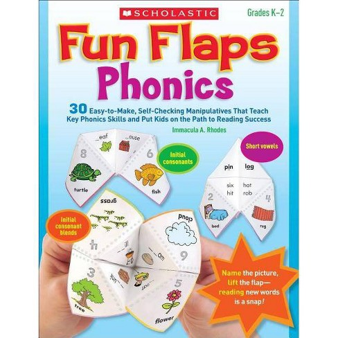 Fun Flaps: Phonics - by  Immacula Rhodes (Paperback) - image 1 of 1
