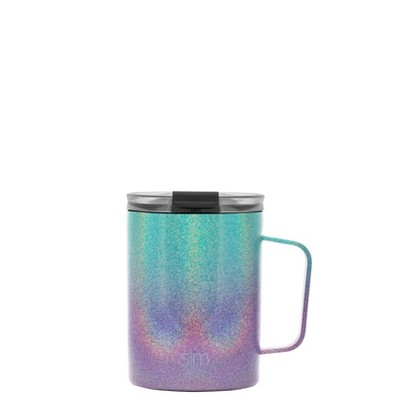 Simple Modern 12oz Stainless Steel Aurora Rainbow Ombre Scout Coffee Mug