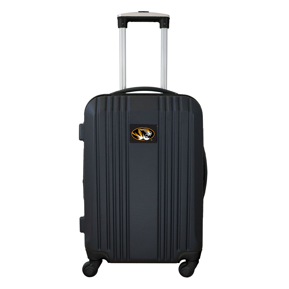 NCAA Missouri Tigers 21 Hardcase Two-Tone Spinner Carry On Suitcase