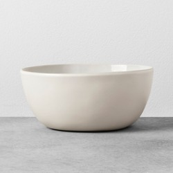 Stoneware Serving Bowl Medium Cream - Hearth & Hand™ with Magnolia