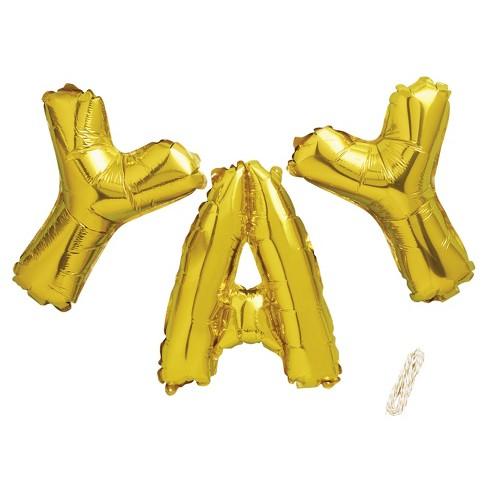 Yay Foil Balloon Kit - Spritz™ - image 1 of 2