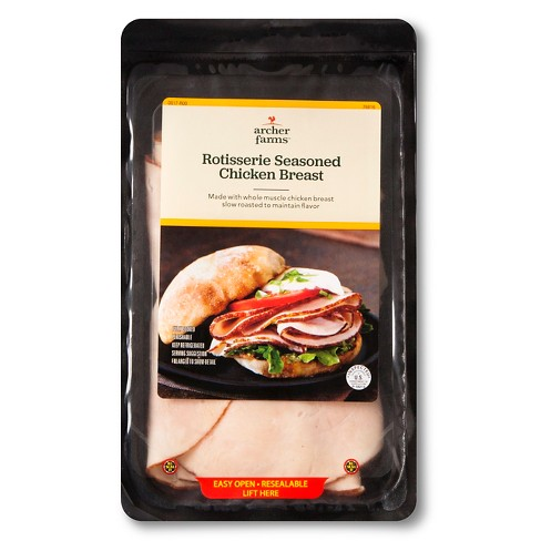 Rotisserie Seasoned Chicken Breast - Archer Farms™ - image 1 of 1