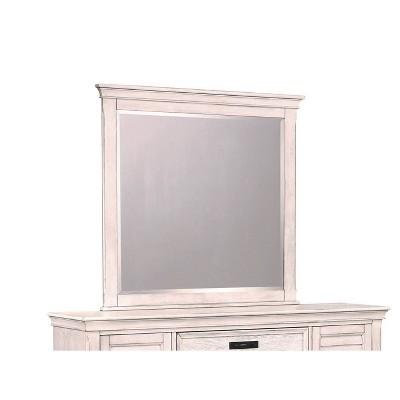 Farmhouse Chateau Dresser Mirror Antique White - Private Reserve