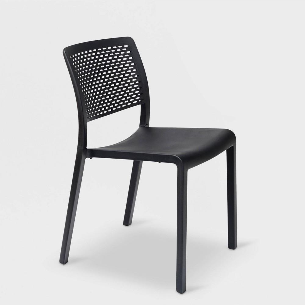 Trama 2pk Patio Chair - Black - Resol