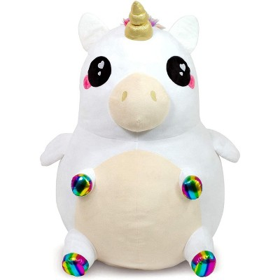 Se7en20 Glitter Galaxy Rainbow Unicorn 48 Inch Stuffed Animal Plush