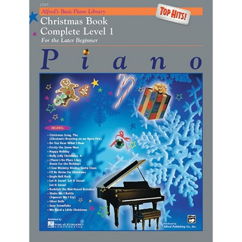 Alfred Alfred's Basic Piano Course Top Hits! Christmas Book Complete 1  (1A/1B)