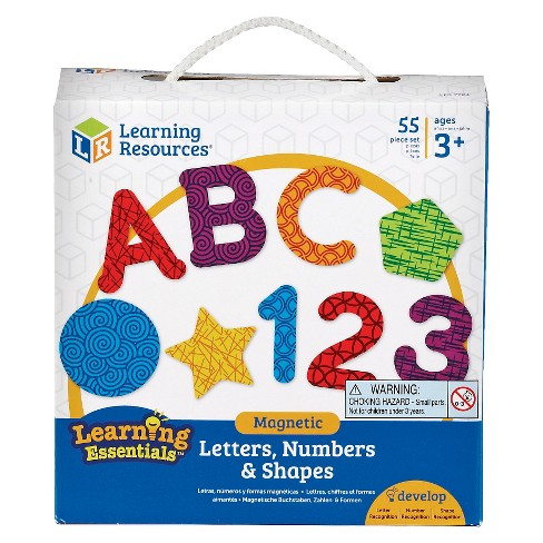 Learning Resources Magnetic Letters Numbers and Shapes - image 1 of 2