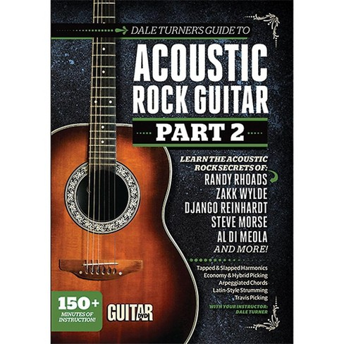 Alfred Guitar World Dale Turner's Guide to Acoustic Rock Guitar Part 2 DVD - image 1 of 1