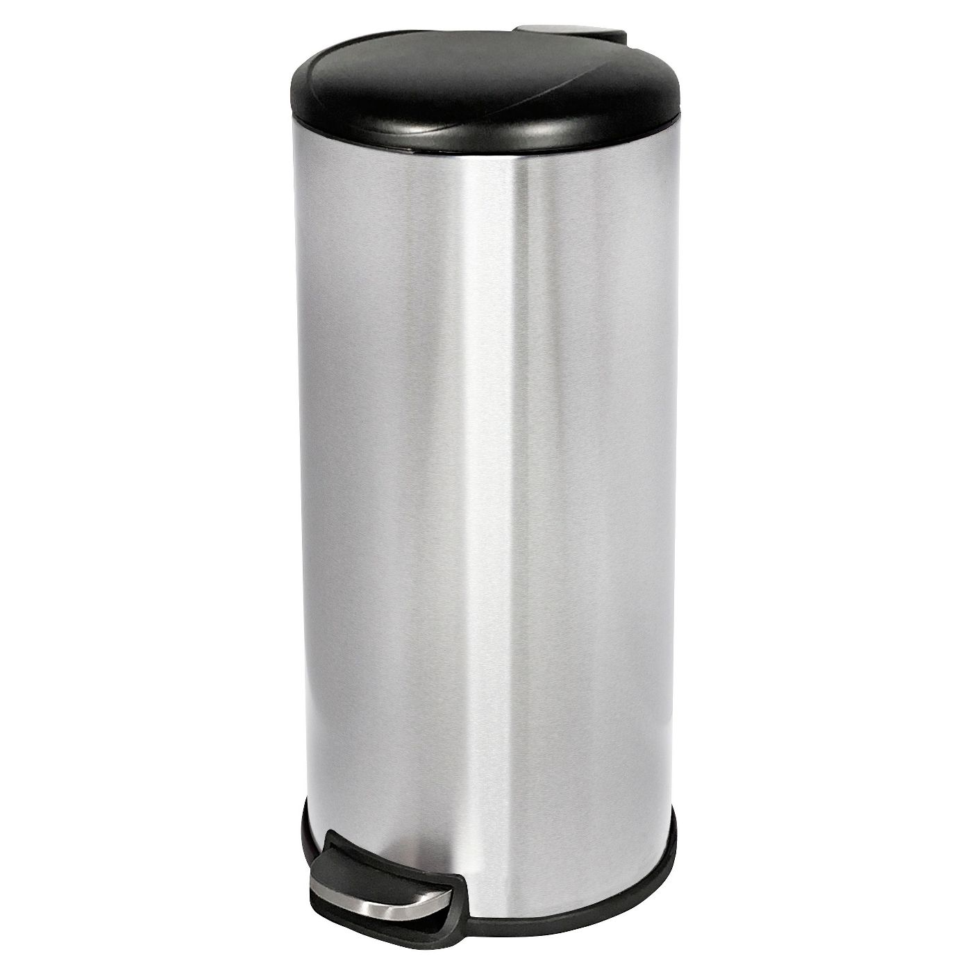 30 ltr Step-On Trash Can Stainless Steel - Room Essentials™ - image 1 of 1